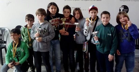 Premiados Sub-12.