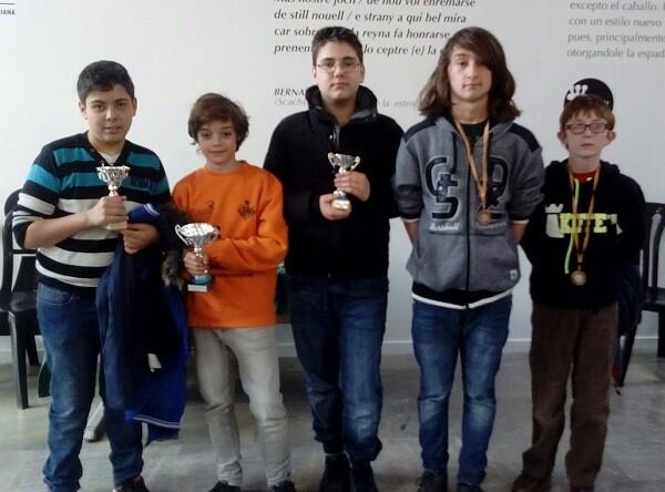 Premiados Sub-16.