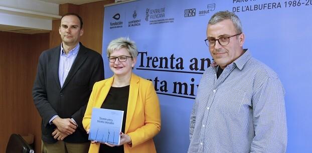 Presentación del libro sobre la Albufera en Sueca.