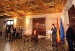 Puig-'La revitalización de la democracia y del autogobierno pasa por que la transparencia sea permanente'.