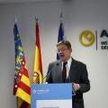 Puig reafirma el compromiso de la Generalitat de ampliar las políticas de reindustrialización en la Comunitat Valenciana.