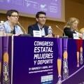 """Rodríguez-""""La Diputación tiene como meta acabar con la discriminación de las mujeres en el deporte"""". (Foto-Abulaila)."""