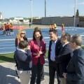 """Rodríguez en Quart-""""La inversión en el Parque Deportivo demuestra que no nos equivocamos al confiar en los municipios"""". (Foto-Abulaila)."""