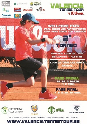 Un total de 248 jugadores se medirán en la segunda prueba que arranca este fin de semana en el Sporting Club de Tenis.