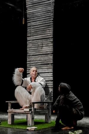 Una escena de 'Últimas palabras de Copito de Nieve'.