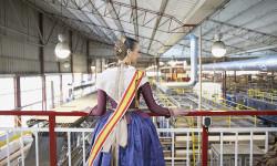 Visita_JCF_Amstel Raquel Alario, Fallera Mayor de Valencia 2017 l _1 (5)