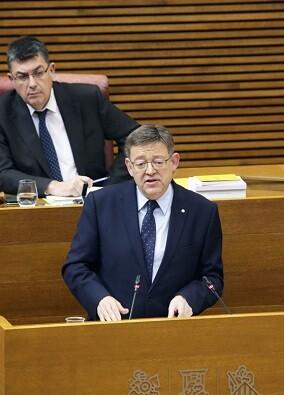 Ximo Puig. president de la Generalitat.