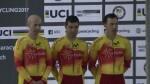 Campeonato del Mundo de Ciclismo Paralímpico en Pista tres medallas, un oro y dos platas