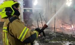 homenaje a los bomberos de Valencia en Fallas 20170319_224057 (32)