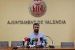 10 candidaturas optarán a plantar las fallas municipales de 2018. (Pere Fuset).