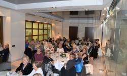 Ambiente de la cena benéfica organizada por el Gremio Artesano de Sastre...