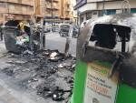 Arden trescontenedores en la calle Visitación de Valencia 20170423_191807 (5)