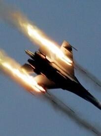 Aviones rusos en una imagen de archivo.