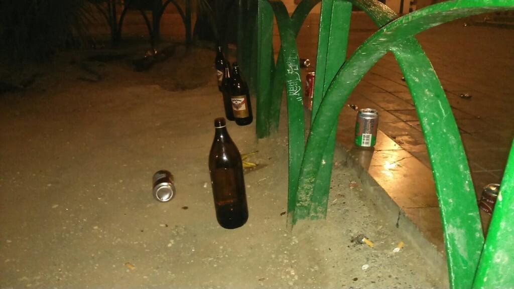 Benimaclet botellon (3)