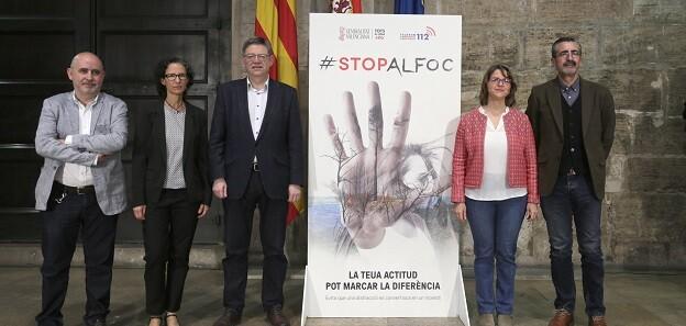 Campaña 'Stop al fuego'.