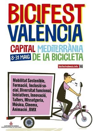 Cartel de la Bicifest.