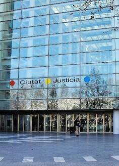 Ciudad de la Justicia en Valencia.