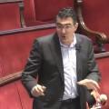 Ciudadanos exige que se paralice la entrada en vigor de la prohibición de aparcar en el carril bus. (Narciso Estellés).