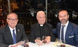 D. Manuel Camarasa y el Maestro Mayor del Gremio, Fran Tochena junto a D...