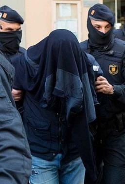 Detención de yihadistas en la jornada de hoy.
