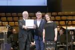 Distinciones y música en el acto del 30 aniversario del Palau de la Música de València. (Foto-Eva Ripoll).