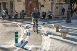 El Anillo Ciclista, el carril más utilizado de València en el mes de marzo.