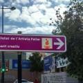 El Ayuntamiento comienza a señalizar los itinerarios de acceso a la Ciutat de l'Artista Faller.