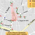 El Ayuntamiento informa de los dispositivos de tráfico con motivo de los eventos de los días 29 y 30 de abril y 1 de mayo.