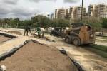 El Ayuntamiento interviene en la rosaleda de los jardines del Túria para recuperarlo y acondicionarlo.