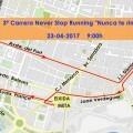 El Centro de Gestión de Tráfico organiza un dispositivo de seguridad por la carrera Never Stop Running.