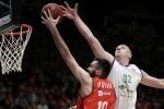El Valencia Basket cae ante el Unicaja en la Fonteta 58-63.