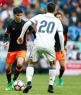 El Valencia CF mereció el empate. (Foto-Lázaro de la Peña).