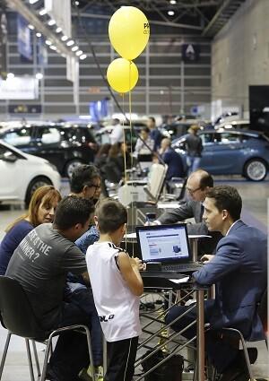 El salón de Feria Valencia crece un 69'5 por ciento en ventas al formalizar 617 operaciones a mediodía de ayer.