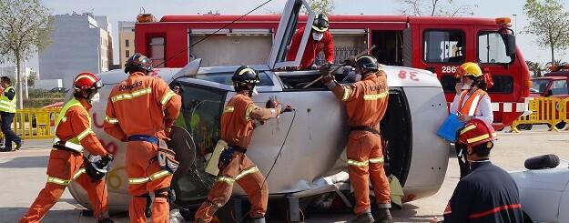 En el 71,27 por ciento de los casos los efectivos del Consorcio llegaron al lugar del accidente en un intervalo inferior a los 15 minutos.