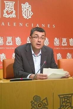 Enric Morera, presidente de Les Corts Valencianes.