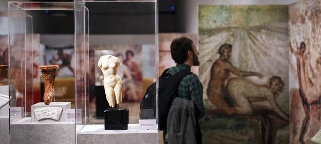 Exposición 'El sexo en época romana'. (Foto-Abulaila).