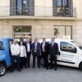 Global OmniumAguas de Valencia utilizará dos vehículos 100 por ciento eléctricos en Massamagrell para reducir las emisiones de co2.