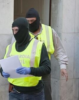 Guardia Civil en una operaciòn contra el yihadismo. (Imagen de archivo).