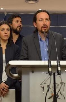 Iglesias durante la rueda de prensa.