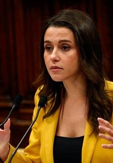 Inés Arrimadas en el Congreso.