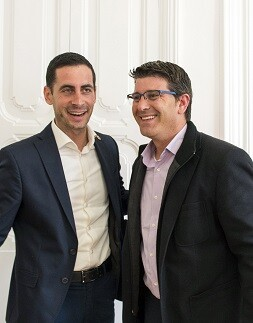 Jorge Rodríguez con el alcalde de Mislata (Foto-Abulaila).
