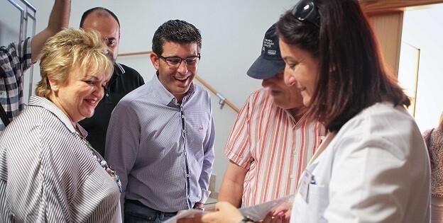 Jorge Rodríguez, y la diputada de Bienestar Social, Mercedes Berenguer, trabajan para hacer efectivo el acuerdo con la Generalitat a lo largo de este año.