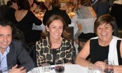 Juanjo y Pepa de la firma Espolín junto a Chelo Pons dama d´art 2016 i o...