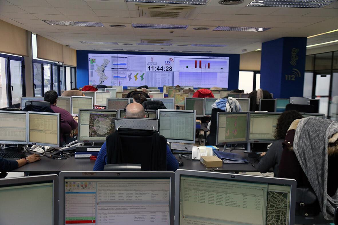 La Agencia de Seguridad y Respuesta a las Emergencias refuerza los turnos del personal del teléfono '112 Comunitat Valenciana