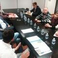 La Diputación consensúa con Pedralba la mejora de la seguridad vial en su travesía.