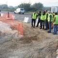 La Diputación invierte 1,2 millones de euros en ampliar la carretera de acceso a Gavarda y mejorar su seguridad.