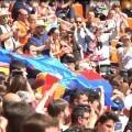 La Diputación reafirma su apoyo al deporte femenino en el derbi histórico entre el Valencia CF y el Levante UD.