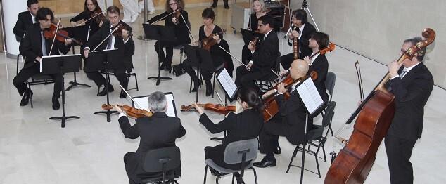 La Orquesta Valencia toncando en La Fe. (Imagen de archivo).