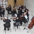 La Orquesta de Valencia acerca la música clásica a la residencia de la tercera edad Palacio de Raga.