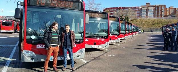 La empresa pública ha ahorrado 1,6 millones de euros en este concurso, que permitirá a València tener por primera vez dos autobuses eléctricos en su flota.
